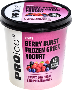 REVIVE Berry Burst Natural Frozen Greek Yogurt