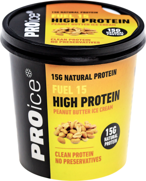 FUEL High Protein Peanut Butter Ice Cream